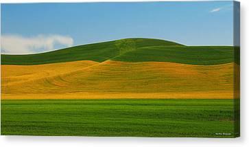 Palouse Panorama Canvas Print by Winston Rockwell