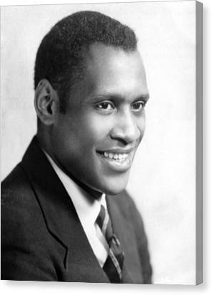 Paul Robeson, Ca. 1930s Canvas Print