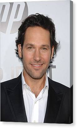 Paul Rudd At Arrivals For Our Idiot Canvas Print by Everett