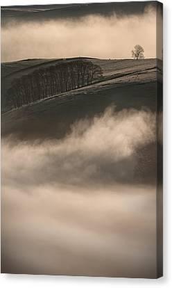 Peak District Landscape Canvas Print by Andy Astbury