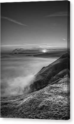 Peak District Sunrise Canvas Print by Andy Astbury