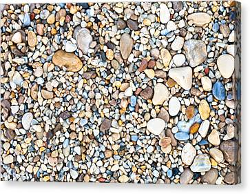 Pebbles Canvas Print by Tom Gowanlock
