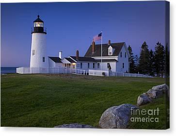 Pemaquid Point Lighthouse Canvas Print by Brian Jannsen