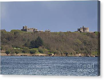 Kernow Canvas Print - Pendennis Castle  by Brian Roscorla