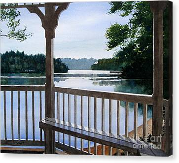 Lake Wylie Canvas Print - Perfect Summer Morning by Shirley Braithwaite Hunt