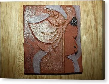 Perusal - Tile Canvas Print