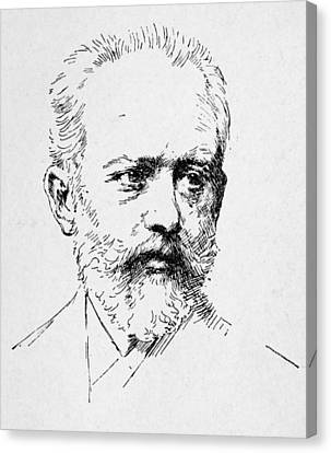 Peter Ilich Tchaikovsky Canvas Print by Granger