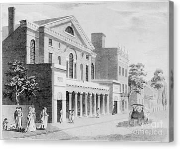 Philadelphia: Theater Canvas Print by Granger