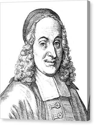 Philipp Spener (1635-1705) Canvas Print by Granger