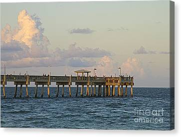 Pier Canvas Print by Blink Images