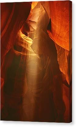 Pillars Of Light - Antelope Canyon Az Canvas Print by Christine Till
