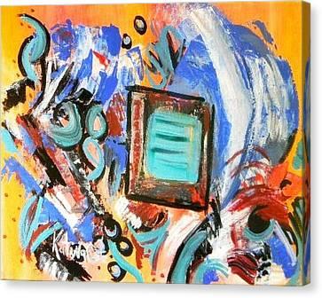 Pizazz Canvas Print by Katina Cote