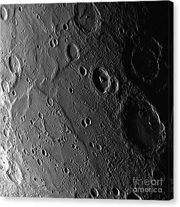 Planet Mercury Canvas Print by Nasa