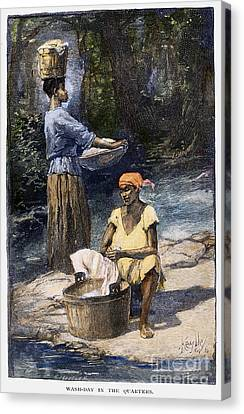 Plantation Life, 1886 Canvas Print by Granger