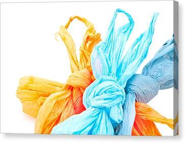 Plastic Bags Canvas Print by Tom Gowanlock