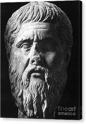 Plato (c427 B.c.-c347 B.c.) Canvas Print by Granger