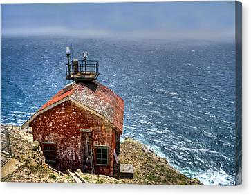 Point Reyes Lighthouse Canvas Print by Diego Re