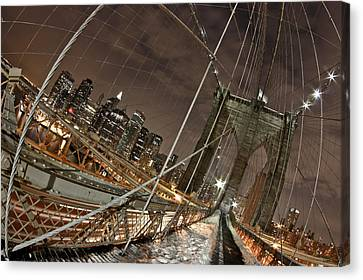 Power Of Perspective Canvas Print by Joshua Ball