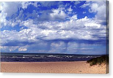 Prelude To Disaster Canvas Print