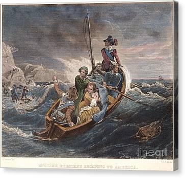 Puritan Fugitives Canvas Print by Granger