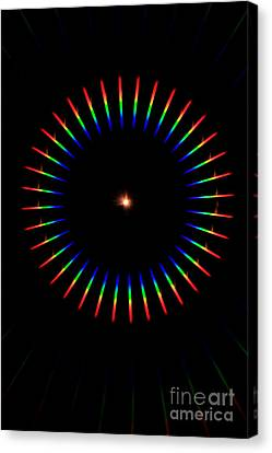 Quicklime Spectra Limelight Canvas Print by Ted Kinsman