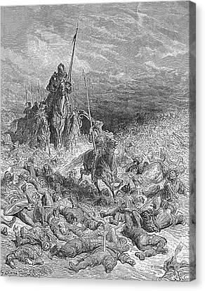 Rabelais: Gargantua Canvas Print by Granger