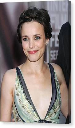 Rachel Mcadams At Arrivals For The Canvas Print
