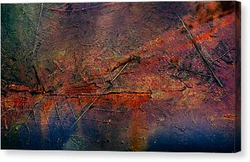 Raging Rapids Canvas Print by Empty Wall