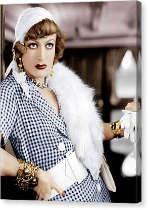 Rain, Joan Crawford, 1932 Canvas Print