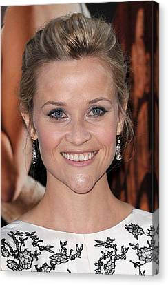 Reese Witherspoon At Arrivals For Water Canvas Print by Everett