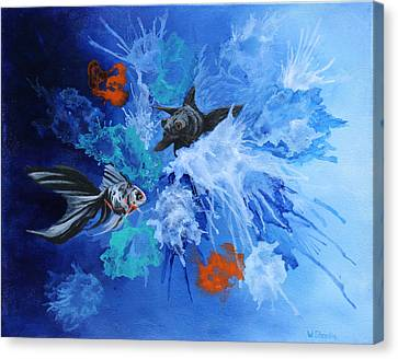 Richies Fish Canvas Print