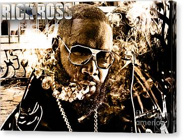 Rick Ross Canvas Print