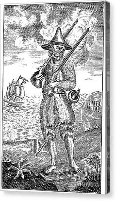 Robinson Crusoe Canvas Print by Granger