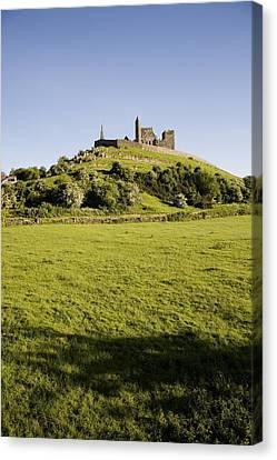 Rock Of Cashel, Cashel Town, County Canvas Print by George Munday