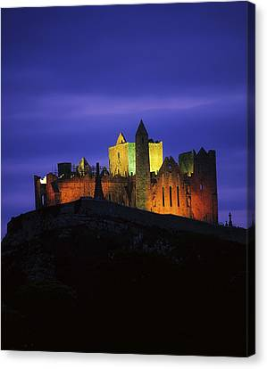 Rock Of Cashel, Co Tipperary, Ireland Canvas Print by The Irish Image Collection