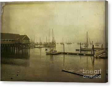 Rockland Harbor Canvas Print