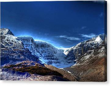 Rocky Mountains Canvas Print by Dan S