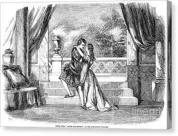 Romeo & Juliet Canvas Print by Granger