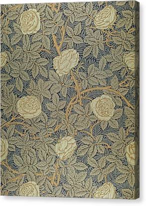 Rose Canvas Print by William Morris