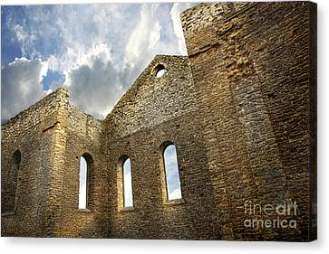 Ruins Of A Church In South Glengarry Canvas Print