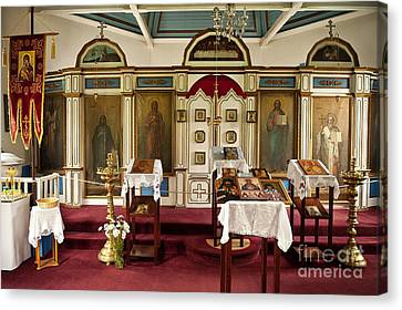 Russian Orthodox Church Canvas Print by John Greim