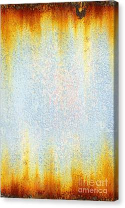 Industrial Background Canvas Print - Rusty Background by Carlos Caetano