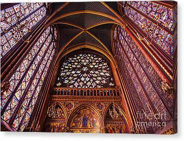 Saint Chapelle Canvas Print by Brian Jannsen