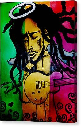 Saint Marley Canvas Print by Asa Charles