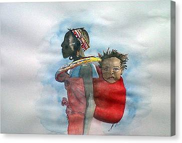 Samburu Tribe IIi. Canvas Print by Paula Steffensen