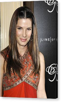 Sandra Bullock In Attendance For 9th Canvas Print by Everett