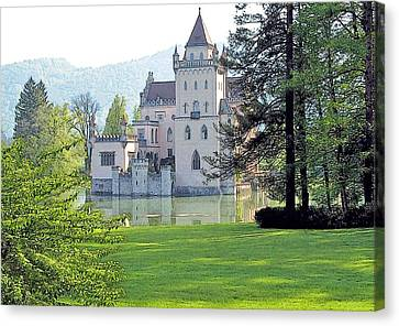 Schloss Anif Canvas Print by Joseph Hendrix