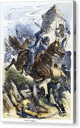 Scotland: Berwick, 1296 Canvas Print by Granger