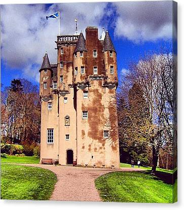 Fantasy Canvas Print - Scottish Castle by Luisa Azzolini