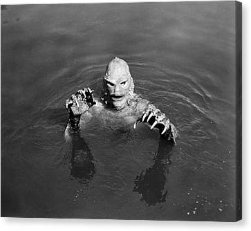 Sea Monster,  1953 Canvas Print by Granger